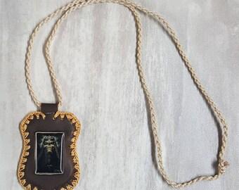 Scapular Holy Death-Escapulario Santa muerte