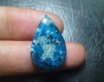Sky Blue Cherry Jasper Cabochon