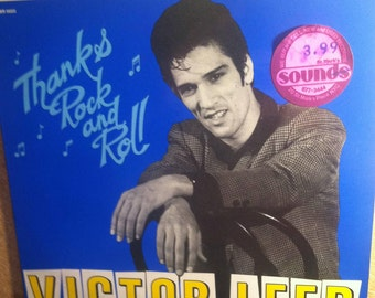 "Victor Leed Thanks Rock And Roll Vinyl Rockabilly 10"" Record Album"