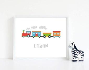 Train Name Print