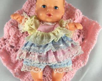 OOAK Reborn Vintage Mini Baby by Uneeda