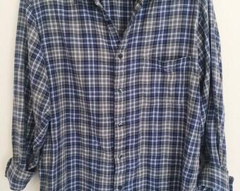 Vintage oversized flannel shirt (large)