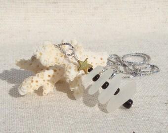 Christmas tree-Sea glass Jewelry-Christmas tree Necklace-Christmas necklace-Christmas gift-Authentic sea glass-gift for you