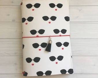 Made to Order Travelers Notebook Cover - Fabric Dori - Faux Dori - Audrey