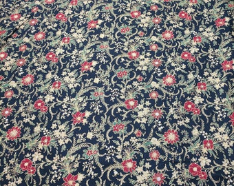 Christmas Gold and Black Cotton Fabric from Hoffman Fabrics
