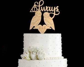 Always cake topper,always cake topper wedding,always wedding cake topper,always wedding topper,always cake topper harry potter,7092017