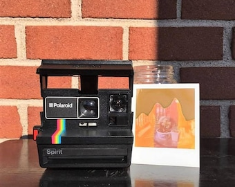 WORKING TESTED CLEANED Vintage Polaroid Spirit 600 Instant Film Land Camera