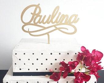 Personalized name cake topper, custom name cake topper, birthday cake topper, custom word cake topper