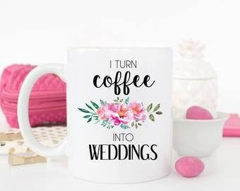 Wedding Planner Mug Gift For Event
