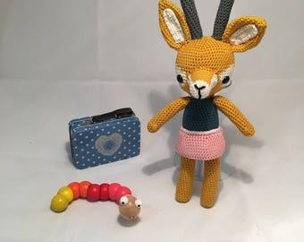 Crochet Gazelle Audrey with skirt