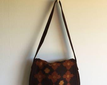 alpaca shoulder bag | hand loomed | bohemian