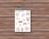 Spring Hoots Deco Stickers | ECLP | Happy Planner | Recollections Planner