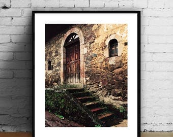 San Lorenzo Michoacan,Old Building Photography,Old Doors Prints,                    Wall Decor,Modern Minimalist,WallArt,Mexico Old Door