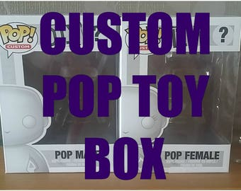 One Custom box, any style. Message me with details! (Read description for how this works!)