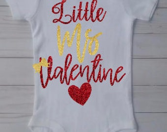 Little Ms.Valentine Shirts