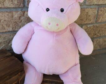 Personalized Stuffed Animal, Pig