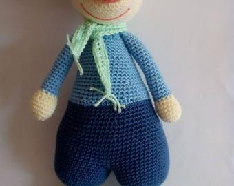 Crochet amigurumi toy mouse