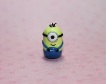 Minion Polymer Clay Charm