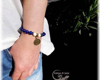 Mens Bracelet Lapis Aum