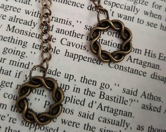 Antique Brass Dangle Earrings