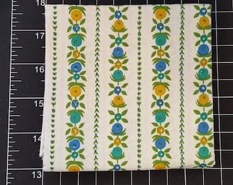 Vintage Fabric by the Half Yard