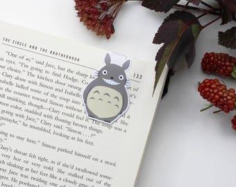 Totoro - magnetische Lesezeichen || Anime, mein Nachbar Totoro, Lesezeichen, Bücherwurm, Lesezeichen, Ghibli, Anime Geschenk, Manga-Liebhaber