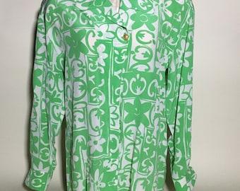 Vintage Escada Silk Blouse