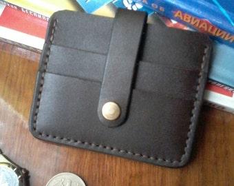 Leather card holder Business card holder Card case Card holder leather Minimalist Wallet Slim Wallet Husband gift  Gift for Men