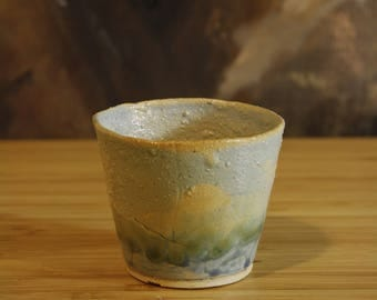 Delicate Sunrise Ceramic Shot Glass
