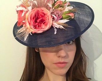 Wedding   Races   Special Occasion Hat/Fascinator/Hatinator   Handmade   Any Colour