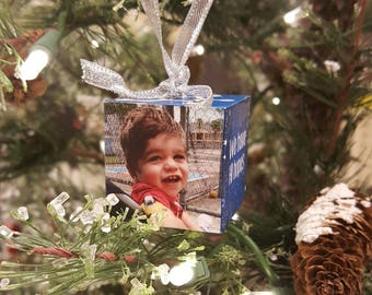 CHI Hyperinsulinism Photo Personalized Christmas Ornament