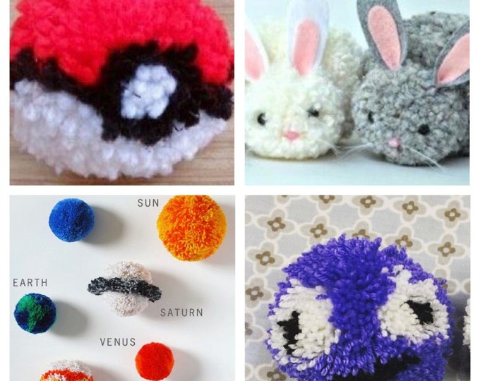 Kids Pom Pom Party!! Monday 9th April, 1 - 3 pm *recommended for ages 5 and over