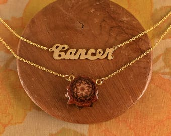 Cancer Zodiac Necklace
