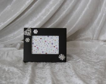 Heart's A Sparkling Picture Frame