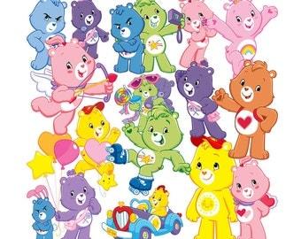 Care Bears clipart