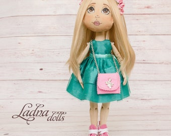 Interior doll Fabric doll Beautiful doll Buy a doll Art dolls Boudoir doll Textile doll Cloth doll Decorative doll Custom cloth doll