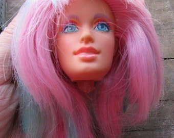 Hasbro Jem and the Holograms 1987 Doll Danse's Head only