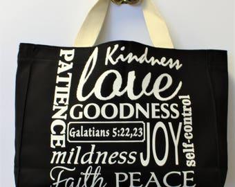 Medium Tote Bag -- Fruitage of the Spirit