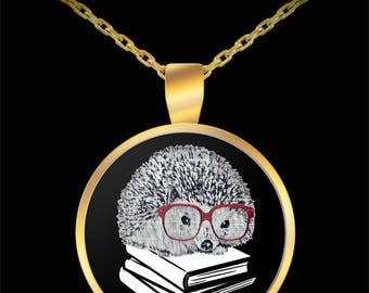 Tiny Hedgehog, Hedgehog Jewelry, Hedgehog Necklace, Hedgehog Gift, Hedgehog Charm, Hedgehog Pendant, Hedgehog, Cute Hedgehog, Funny Animal