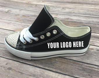Women's Custom Shoes with Bling