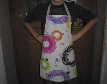 Mixed child apron size 4/10 years