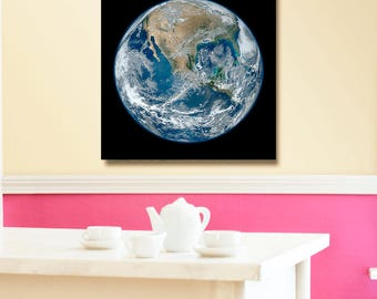 NASA Photo, Earth wall decor, The Blue Marble.One of the most detailed images of the Earth yet created.NASA poster,.