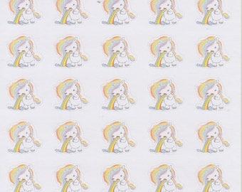 Unicorn Sick | 034 | Planner Stickers | Kikki-K | Happy Planner | Erin Condren