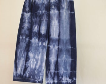 Tie Dyed Indigo Yoga Pants - Size 1 - Cotton - Girls - Boho - Boy - Beach - Gypsy - FREE SHIPPING within AUS
