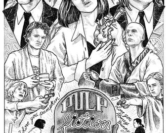 Pulp Fiction - Alternative Movie Poster