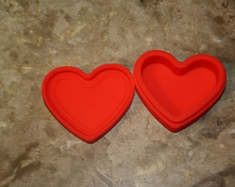 Valentines Day Heart Love Dab Silicone Container