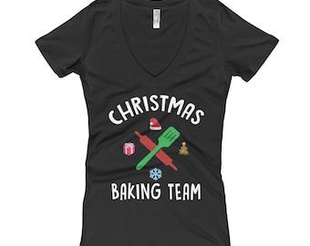 Funny Christmas Baking Team T Shirt