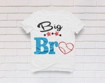 Baseball svg, Big brother svg, Baseball mom svg, Big bro svg, Baseball shirt, Baseball mom shirt, Cricut, Cameo, Svg, DXF, Png, Pdf, Eps