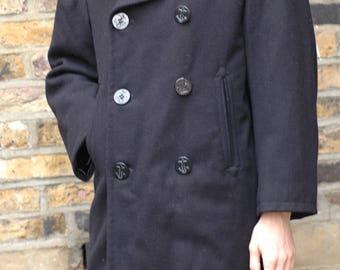US Navy Pea coat, small, 34r