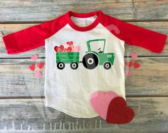 Love Tractor, SVG, DXF, Png, Valentine Svg, Tractor Svg, Truck Valentines, Vday, Jpg, Vday Svg, Cricut, Cut File, Boys Valentine Svg